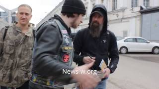 IN FLAMES & fans before Moscow live show in Stadium 5.04.2017