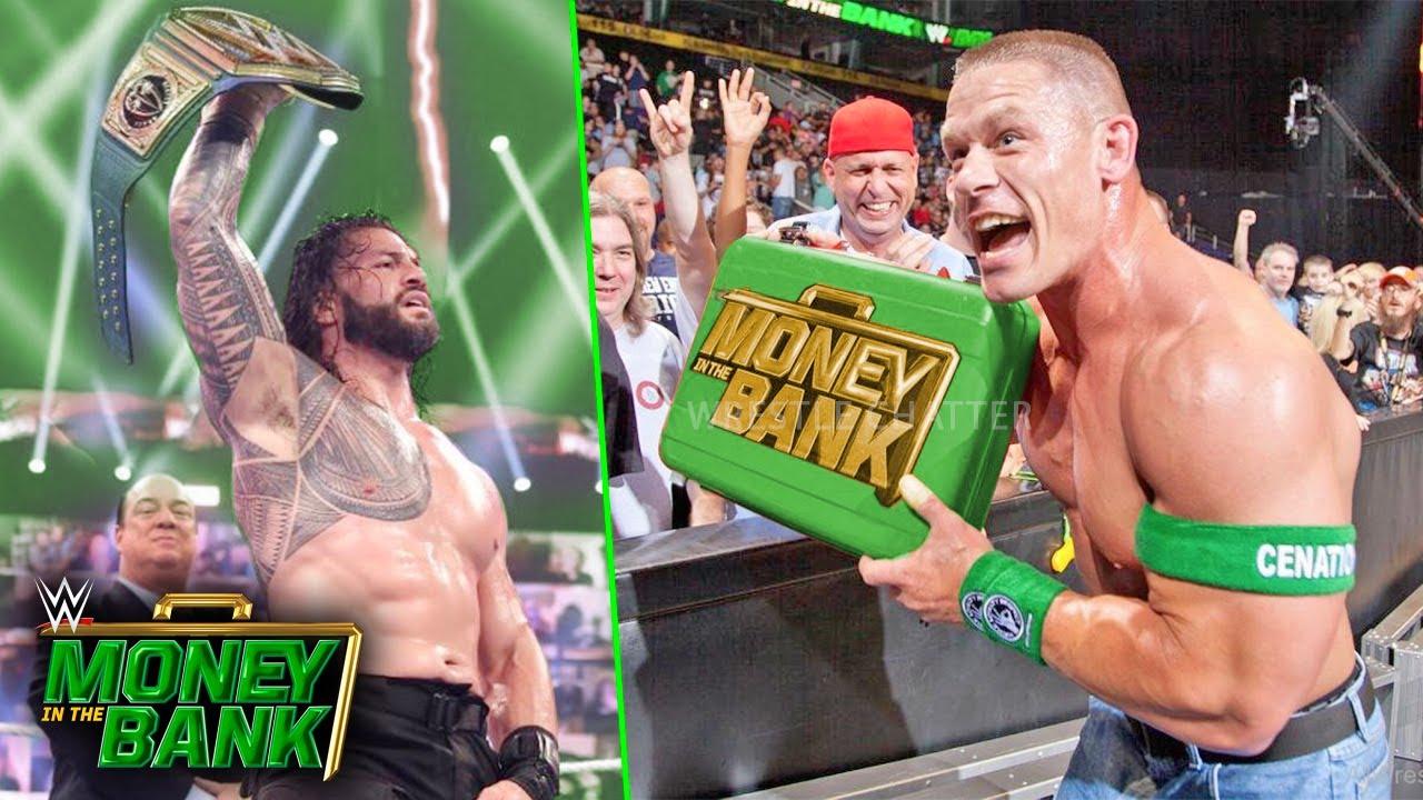 2021 WWE Money in the Bank results, recap, grades: John Cena ...