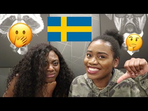 AFRICAN GIRLS FIRST REACTION TO SWEDISH HIP HOP/RAP MUSIC FT THE AFRICAN CHERRY