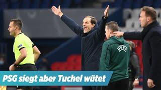 """Trainer Tuchel wütet nach PSG-Sieg: """"Wenn Sie die Eier dazu haben ..."""""""