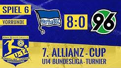 7. Allianzcup 25.01.2020   Spiel 6   Hertha BSC - Hannover 96 8:0   Vorrunde