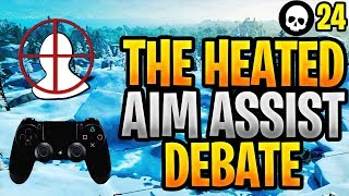 If You Think Aim Assist Is OP Watch This Video... (Controller Fortnite Aim Assist Abuse)