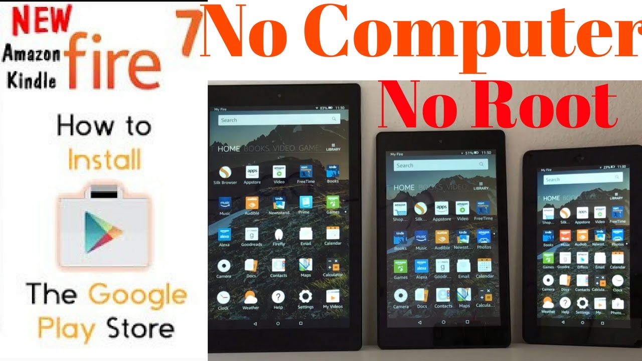 Google Play Store On Amazon Fire Tab (2017) How To Guide How To Clear  Browsing History