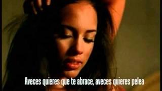Alicia Keys - When you really love someone Traducida al Español