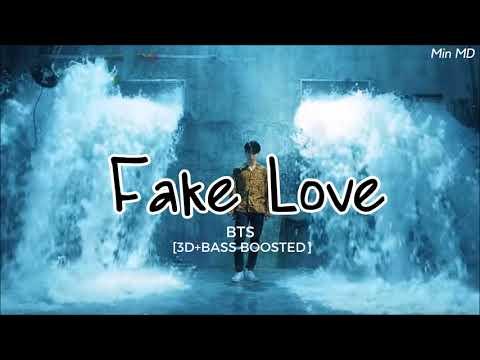 [3D+BASS BOOSTED] BTS (방탄소년단) - FAKE LOVE | Min MD