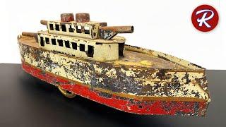 1920s Dayton Battleship Restoration