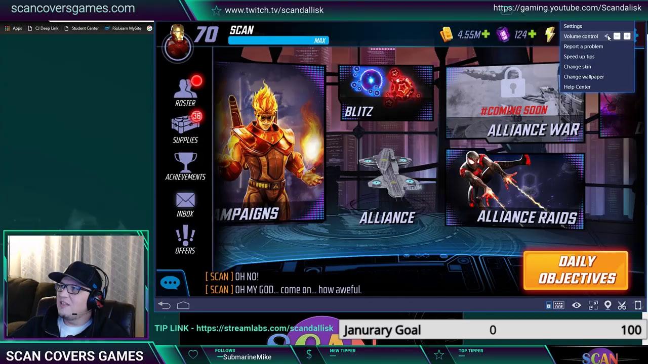 Marvel Strike Force Live Stream