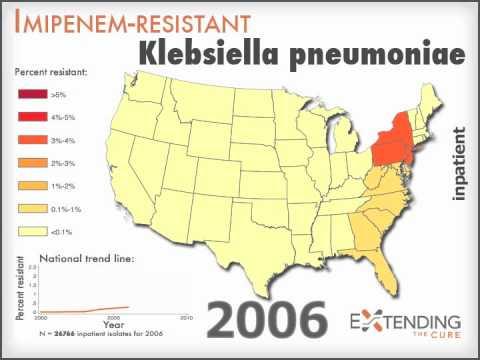 Imipenem-resistant Klebsiella pneumoniae: Inpatient