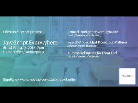 Talent.io MeetUp: JavaScript Everywhere