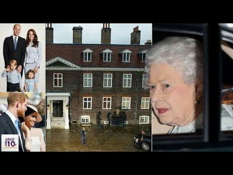 الملكة اليزابيث تقوم بمفاجأة العروسان هاري وميغان وآل كامبردج وتزورهما في منزلهما بعد الزفاف الملكي!