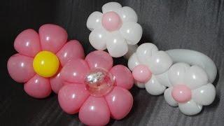 풍선아트 004 Balloon Flower Bracel…