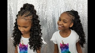 Crochet Ponytail | Kids Edition | Kima Braid Hair