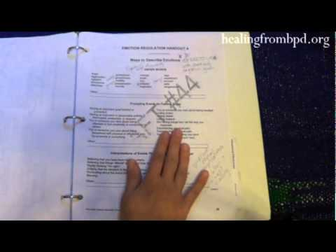What's in my DBT Binder? (Dialectical Behavior Therapy)