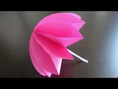 Beautiful paper umbrella making|DIY|kids room decor idea|paper craft