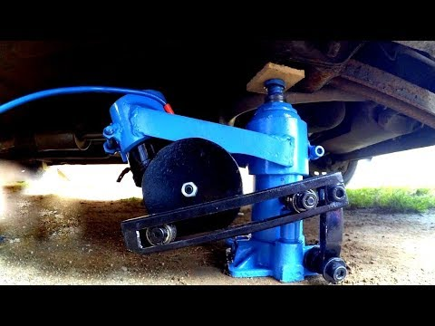 #9 How to Make Electric 12V Hydraulic Car Jack