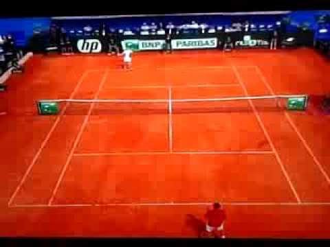 Borna Coric vs Andy Murray (57 shots rally)