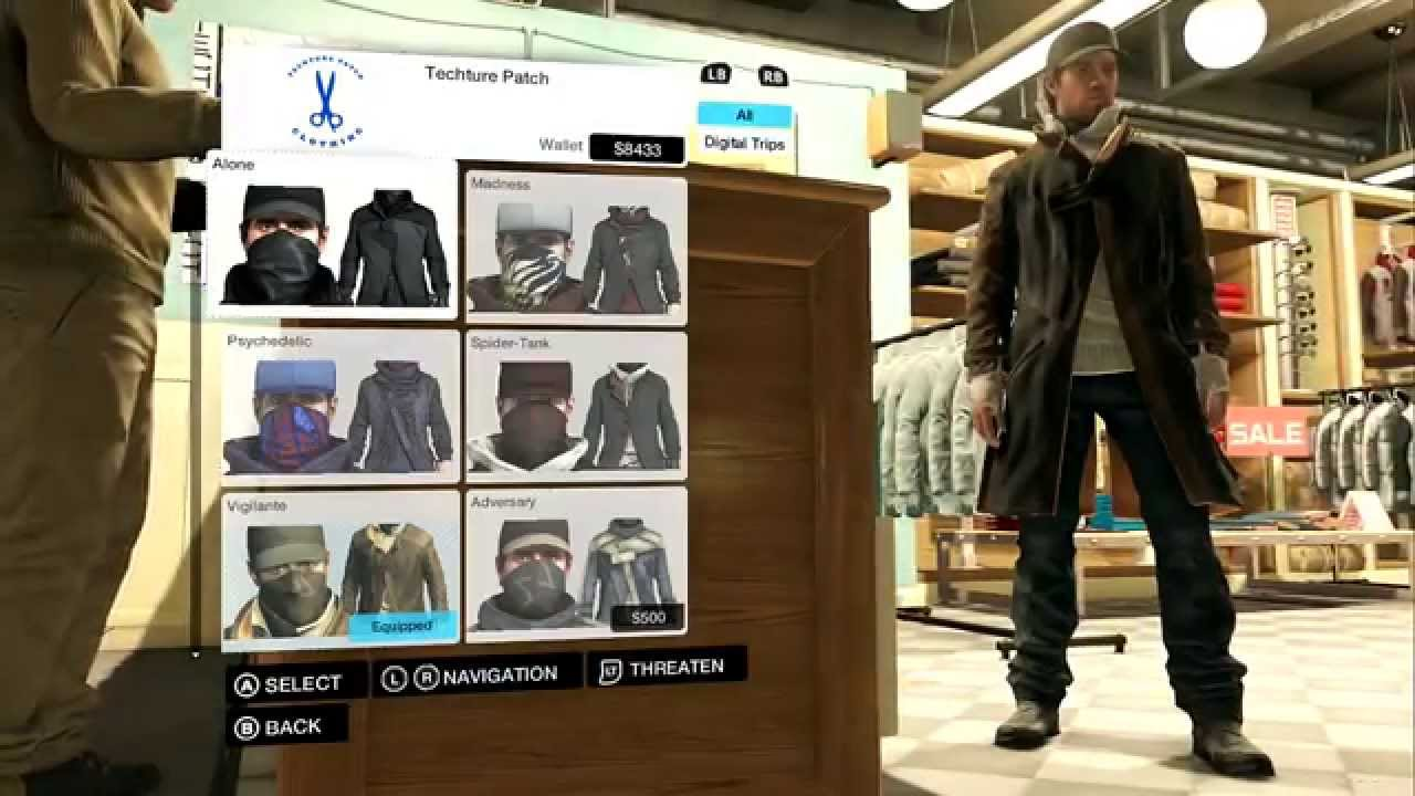 Watch Dogs  Secret Outfits