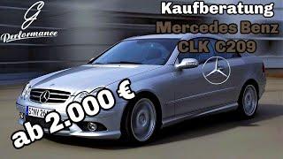 Mercedes Benz CLK C209 - Lohnt sich der Kauf?| G Performance