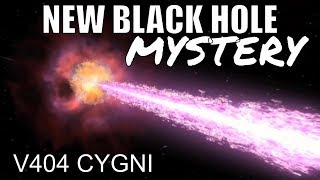 This Black Hole Just Created a New Mystery Science Can't Explain - V404 Cygni