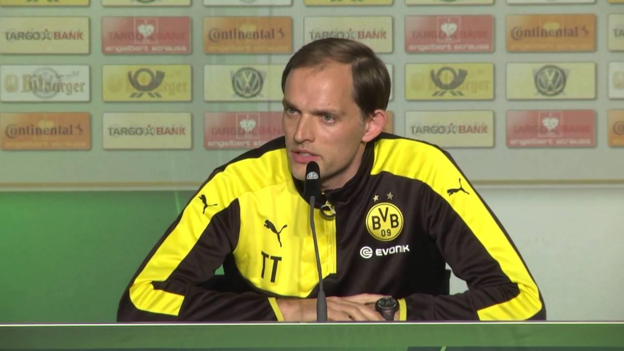 Thomas Tuchel und Marcel Schmelzer vor dem Pokalfinale | FC Bayern - BVB