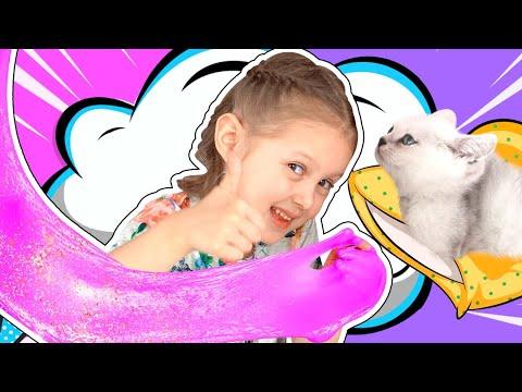 Наша Кошечка едет к Ветеринару Влог! Амелька слаймер!