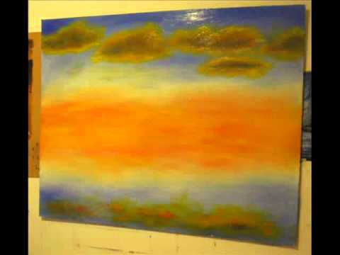 Pintar cuadro al oleo youtube - Pintar cuadros faciles ...