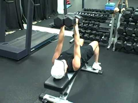 Dumbbell Squeeze Press | Exercise com
