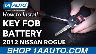 Update How To Replace Nissan Key Fob Battery Antidiary