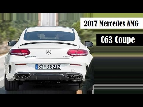 2017 C63 Amg Coupe Price >> 2017 Mercedes Amg C63 Coupe This Is The Leaked Video Youtube