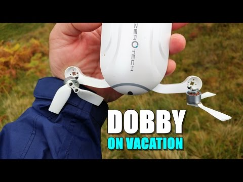 ZEROTECH DOBBY Selfie Drone - Review Part 2 - [On Vacation]