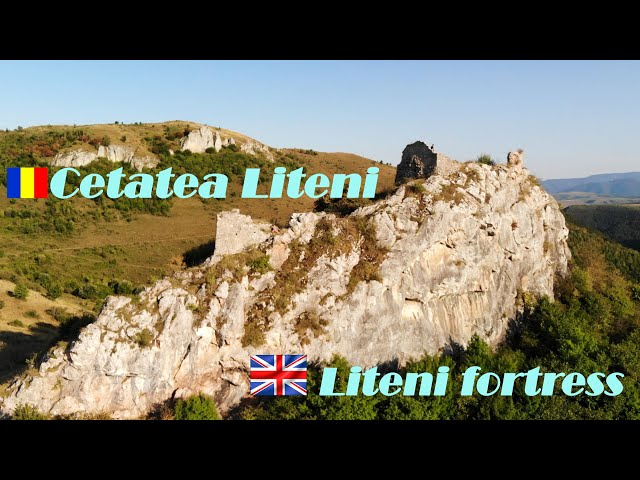 Cetatea Liteni, secolul al XIV-lea, jud. Cluj.