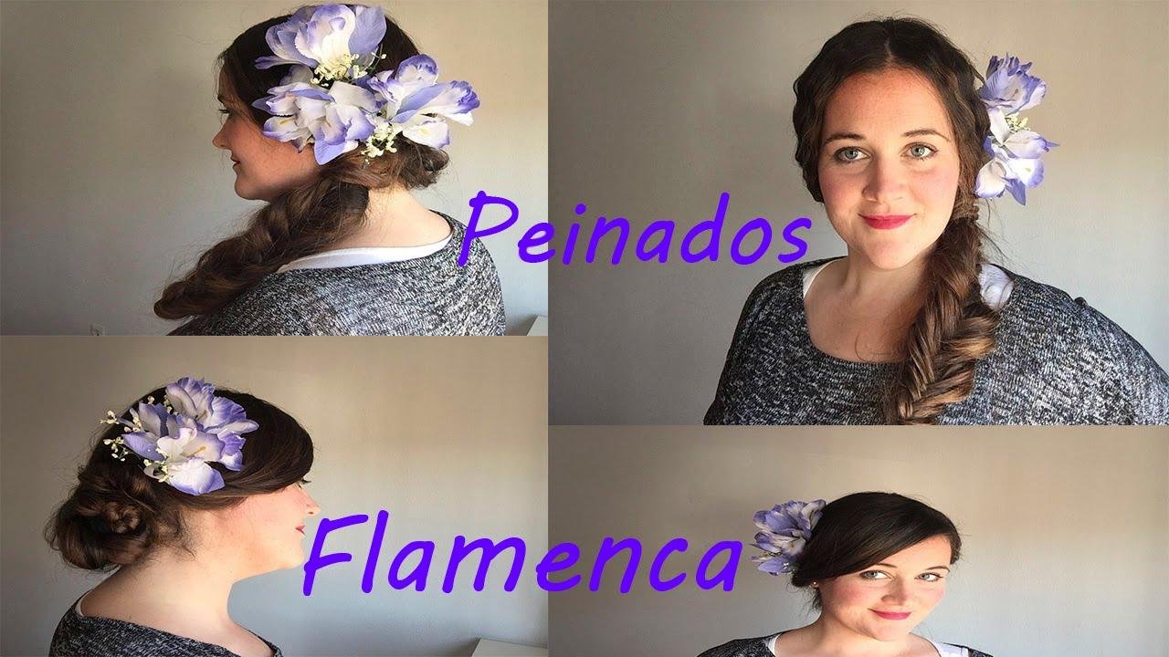 Peinados Flamenca Sencillos Youtube