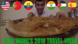 Gambar cover Alex Wong's 2018 Travel Video