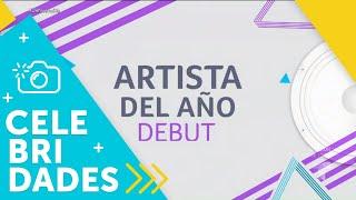 Finalistas de la categoría Artista del Año Debut   Un Nuevo Día   Telemundo