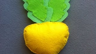 How To Make Turnips From Felt - DIY Crafts Tutorial - Guidecentral