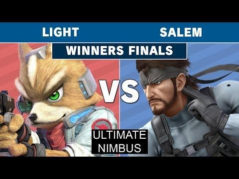 Ultimate Nimbus - Rogue | Light (Fox) Vs. Salem (Snake) Winners Finals - Smash Ultimate thumbnail
