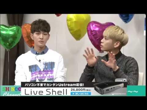 140924 SHINee CHANNEL 生放送