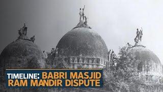Ram Mandir-Babri Masjid row: All you need to know