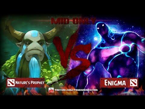 видео: furion vs enigma [Битва героев mid only] dota 2