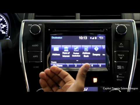Capitol Toyota Salem Oregon >> Capitol Toyota | 2015 Toyota Camry Entune Navigation Setup and Demo | Salem Oregon - YouTube