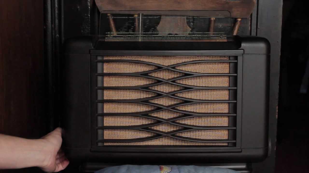 Rare Vintage Philips Valves Radio - YouTube