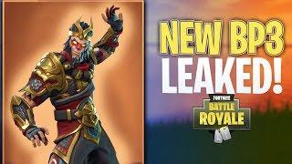 *OMG!* Battle Pass Season 3 LEAKED! | NEW Monkey Skin In Fortnite Battle Royale!