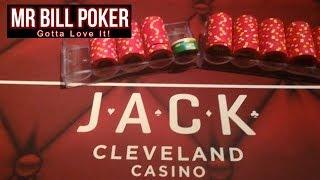 Mr Bill Poker Vlog #20 - JACK Cleveland