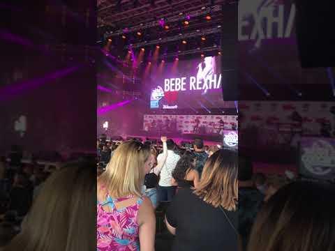 Bebe Rexha at 2018 Kiss 108 Concert