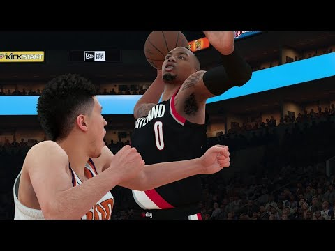 NBA 2K18 MyGM Portland Trail Blazers Ep. 2 - Season Opener