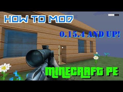 [Android NO ROOT!] How To Mod Minecraft PE *0.15.4 and Future Updates!!* (TMI, X-Ray, and More!)