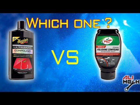 Meguiars Ultimate Compound Vs Turtle Polishing Compound/how To Remove Swirl Marks On Car Easily