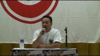 2009年7月18・19日に茨城県阿字ケ浦で開催された新極真会総本部夏合宿...