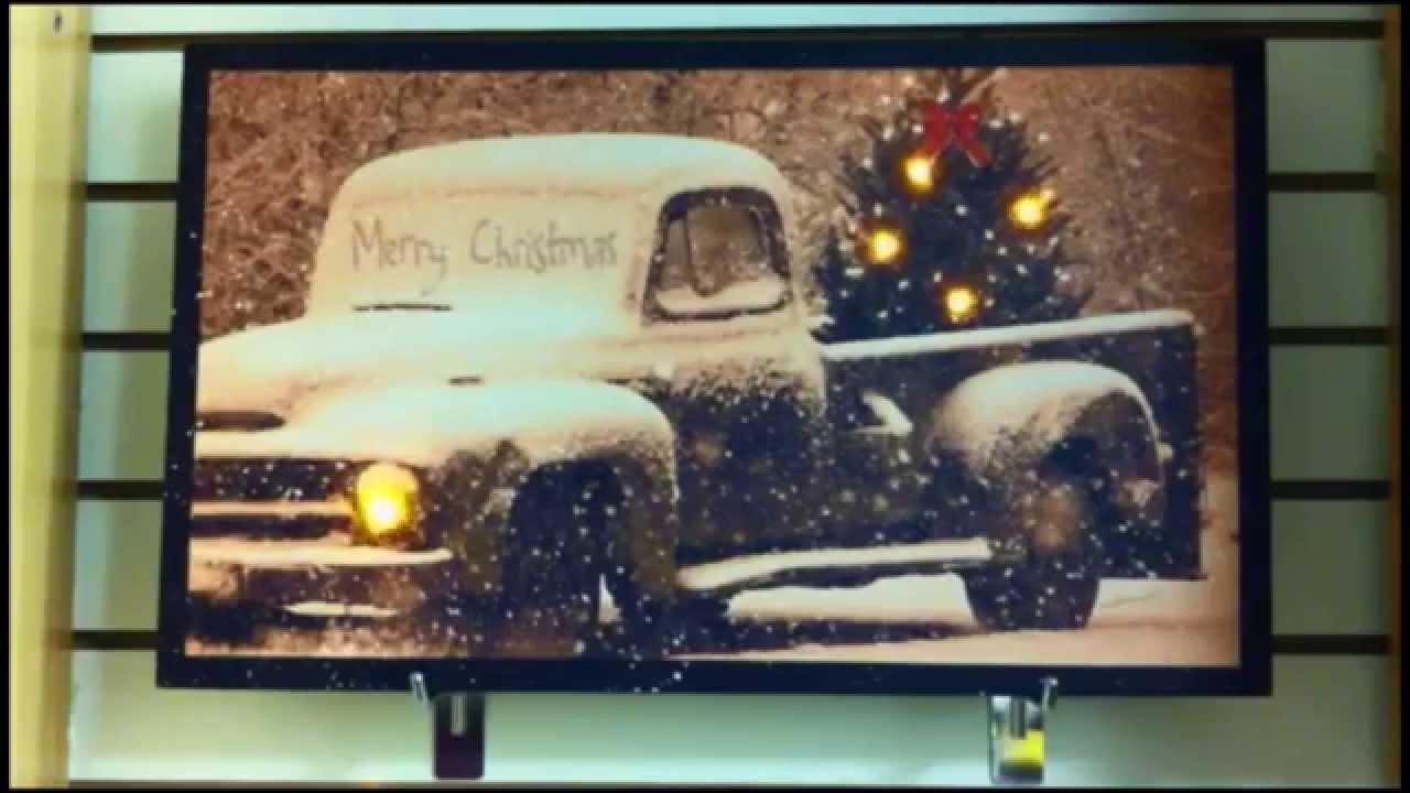 Christmas Wall Art Led