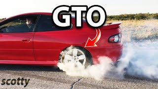 Pontiac GTO 2005 Limited (with Burnout) - with Scotty Kilmer thumbnail